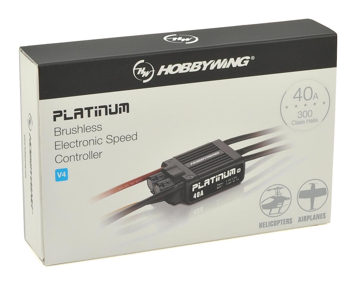 Hobbywing Platinum Pro 40A V4 ESC
