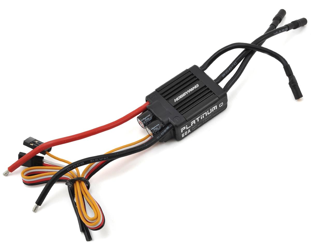 Platinum Pro 60A V4 60 Amp ESC by Hobbywing