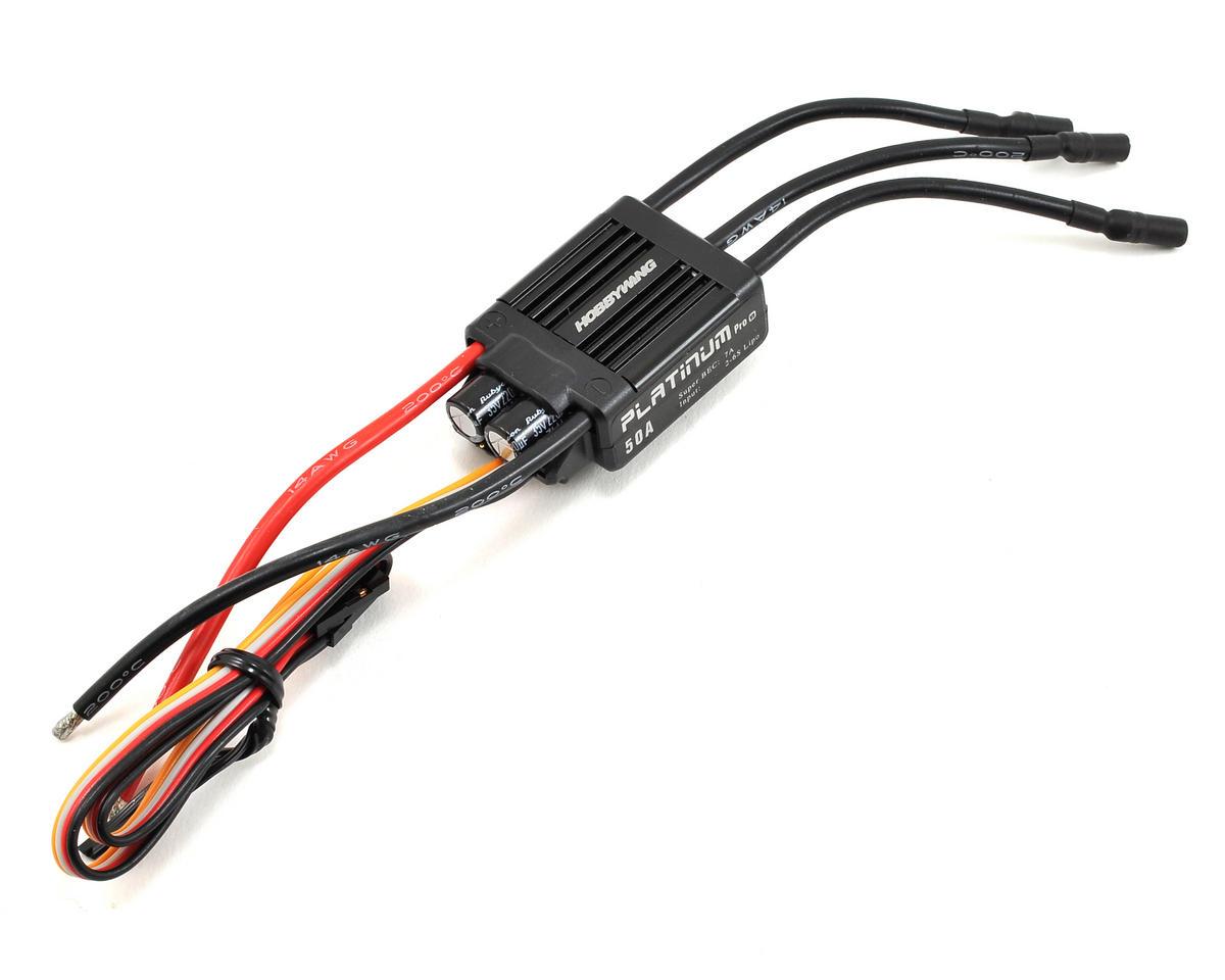 Hobbywing Platinum V3 50A 50 Amp ESC