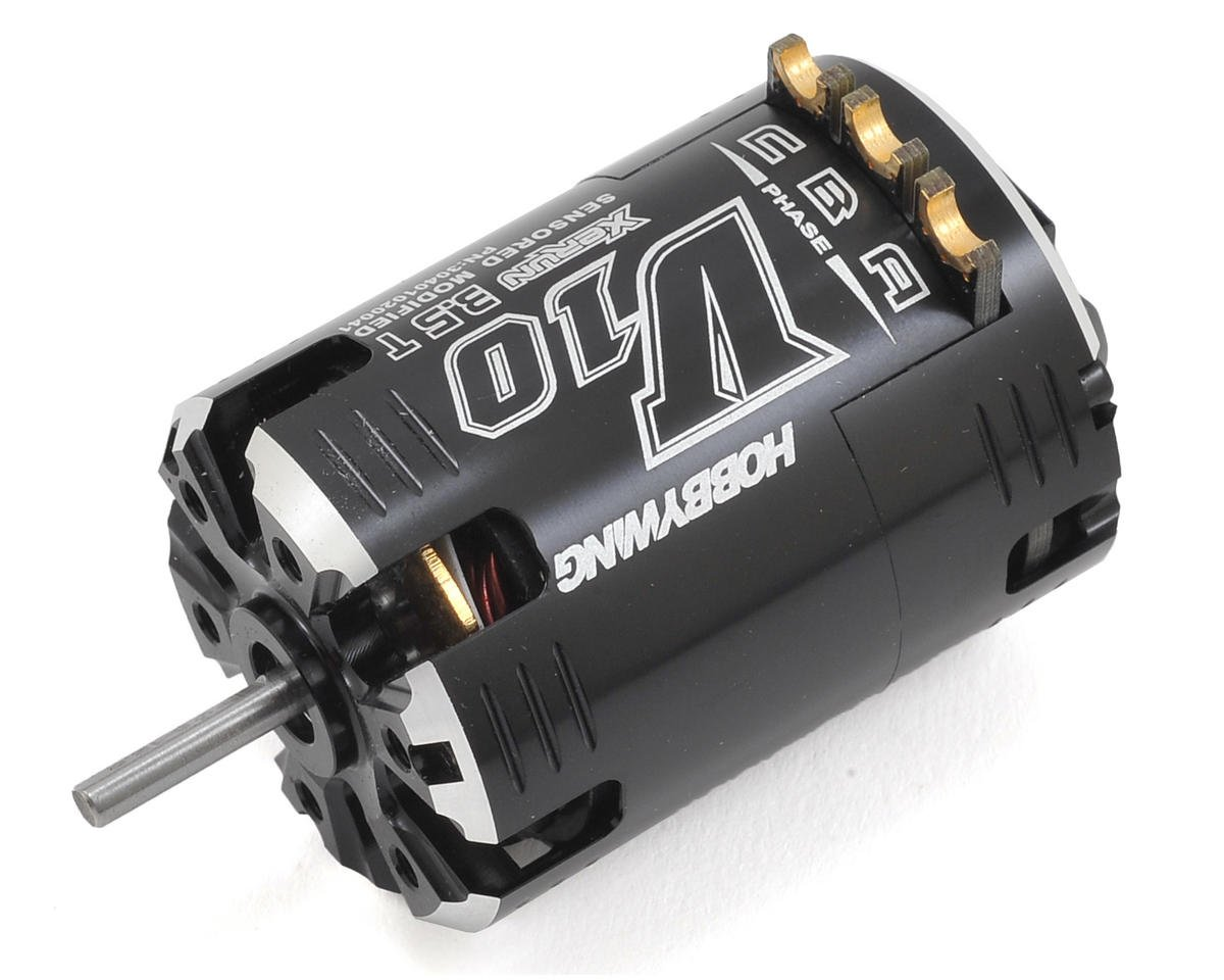 Xerun V10 Competition Modified Brushless Motor (3.5T) by Hobbywing