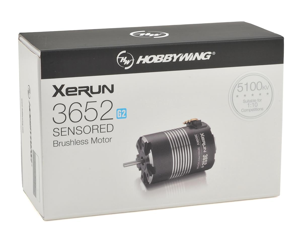 XERUN SCT 3652SD G2 Sensored Brushless Motor (5100kV) by Hobbywing