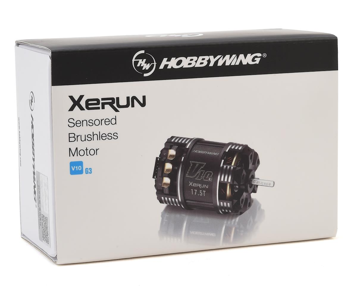 Hobbywing Xerun V10 G3 Competition Stock Brushless Motor (17.5T)