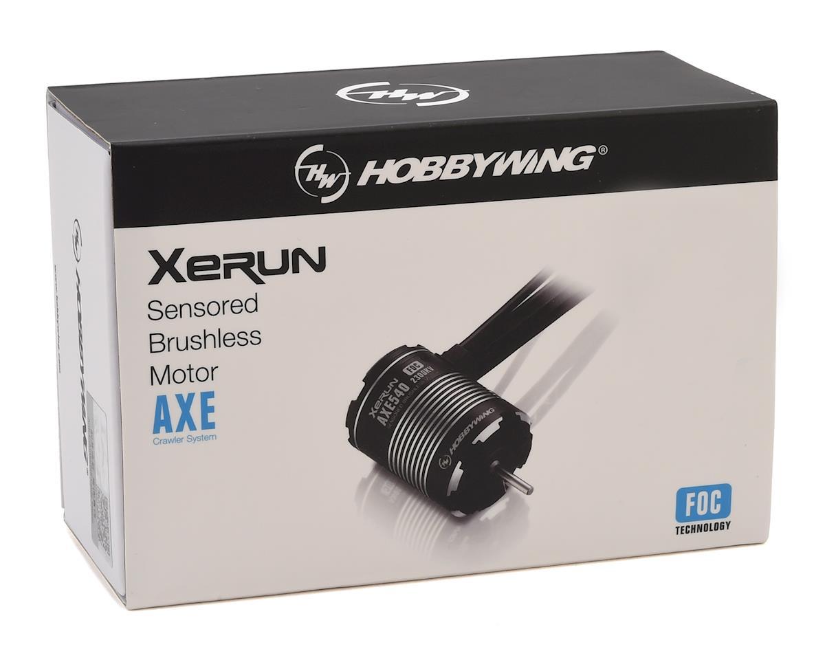 Hobbywing AXE 540 FOC Sensored Brushless Crawler Motor (2300KV)
