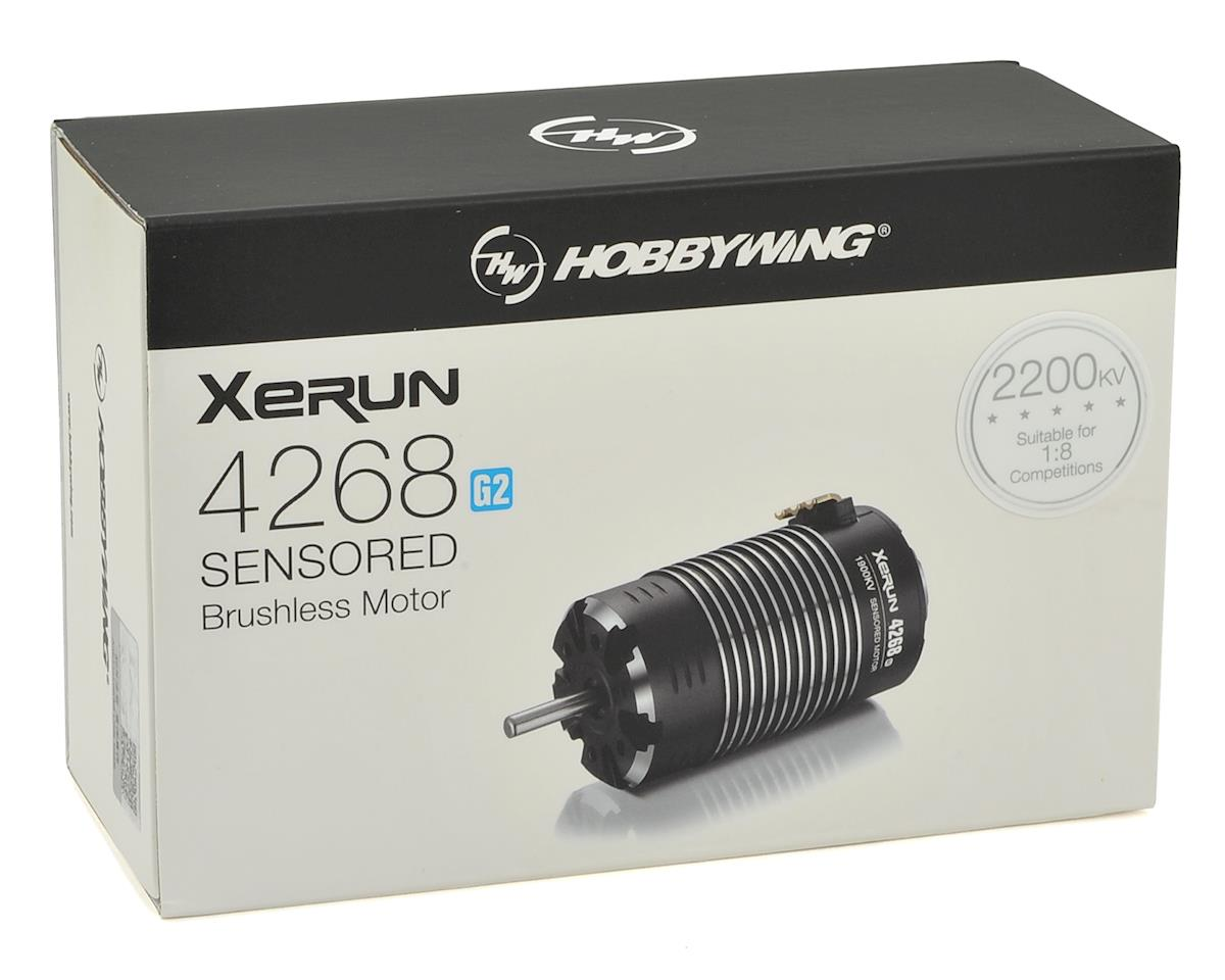 Hobbywing Xerun 4268SD G2 Sensored Brushless Motor (2200kV)