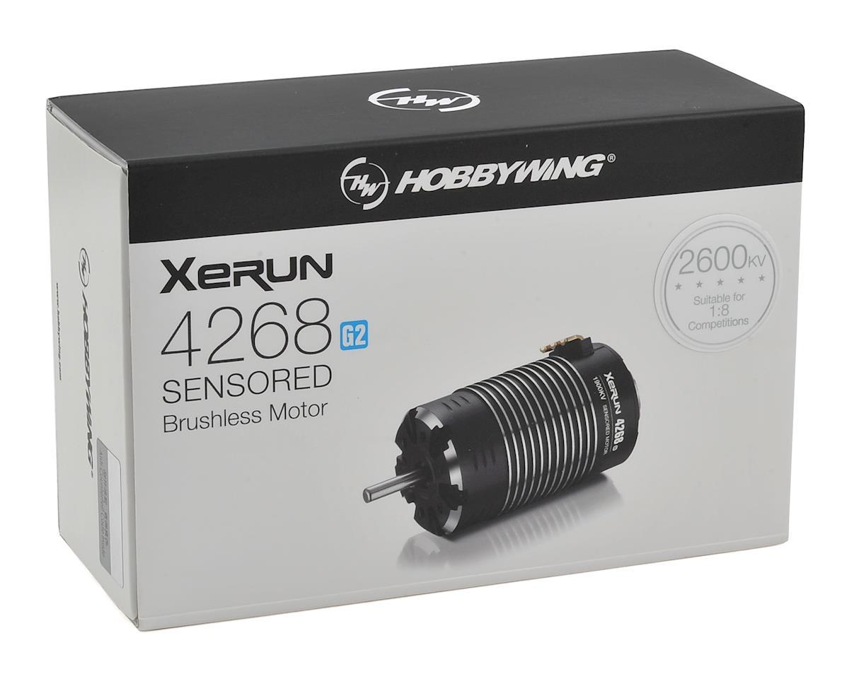 Hobbywing Xerun 4268SD G2 Sensored Brushless Motor (2600kV)