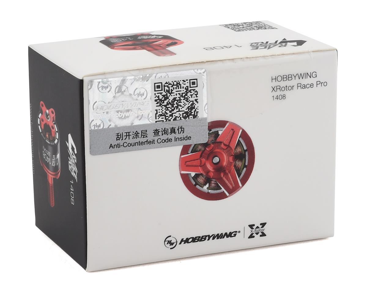 Hobbywing XRotor 1408 Race Pro FPV Drone Racing Motor (Red) (3250Kv)