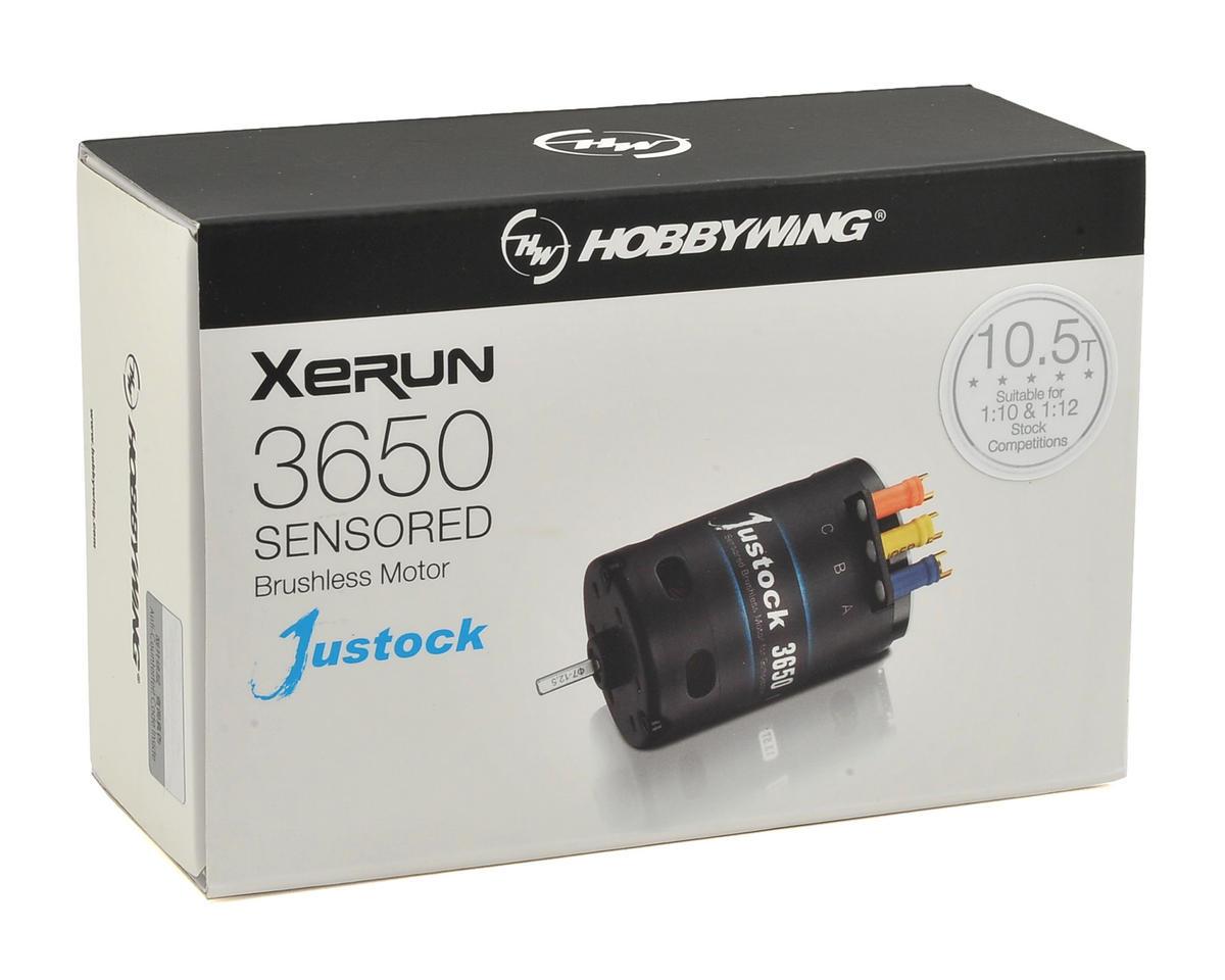 Hobbywing XERUN Justock 3650 Sensored Brushless Motor (10.5T)