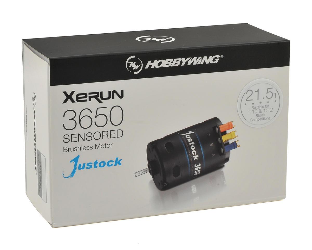 Hobbywing XERUN Justock 3650 Sensored Brushless Motor (21.5T)