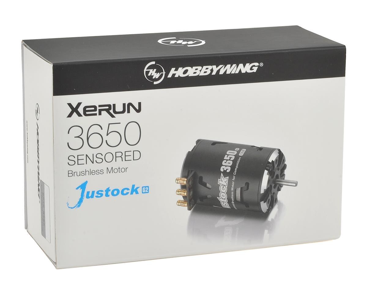 Hobbywing XERUN Justock 3650SD G2 Sensored Brushless Motor (10.5T)