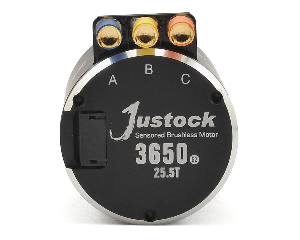 Hobbywing XERUN Justock 3650SD G2 Sensored Brushless Motor (25.5T)