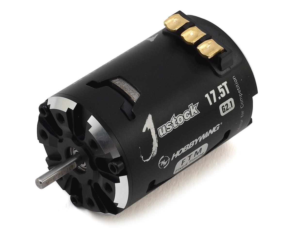 Hobbywing XERUN Justock 3650 SD G2.1 Sensored Brushless Motor (17.5T)