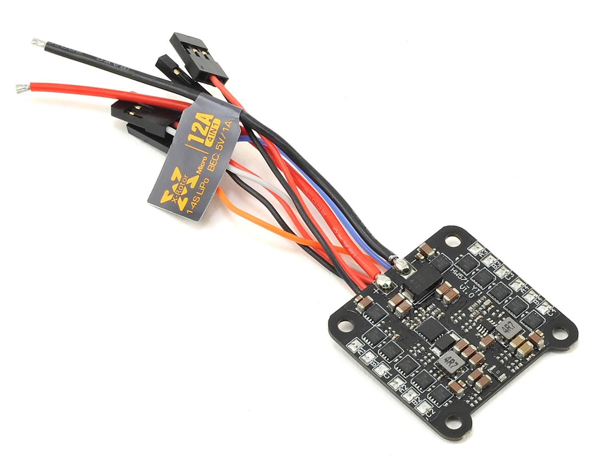 Hobbywing XRotor Micro 12A 4-in-1 BLHeli_S Brushless ESC
