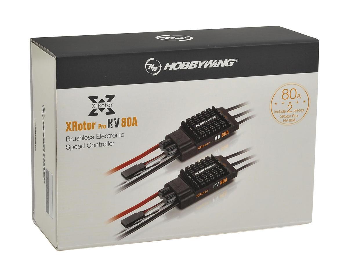 Hobbywing XRotor Pro 80 Amp HV Multi-Rotor Brushless ESC (2)