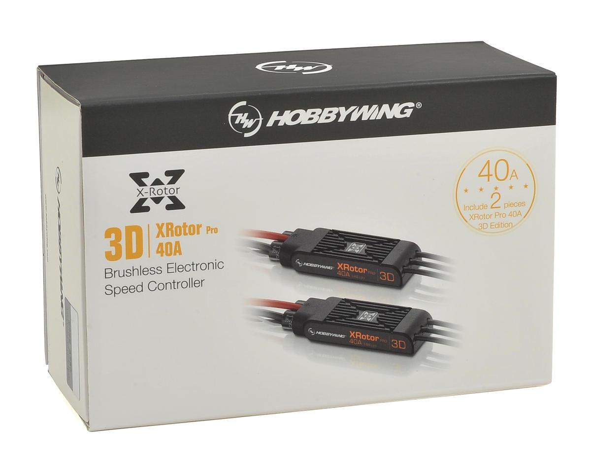 Hobbywing XRotor Pro 40 Amp 3D Multi-Rotor Brushless ESC (2)