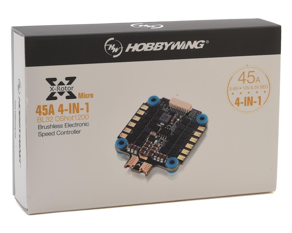 Hobbywing XRotor Micro 45A 4-in-1 BLHeli32 Brushless ESC