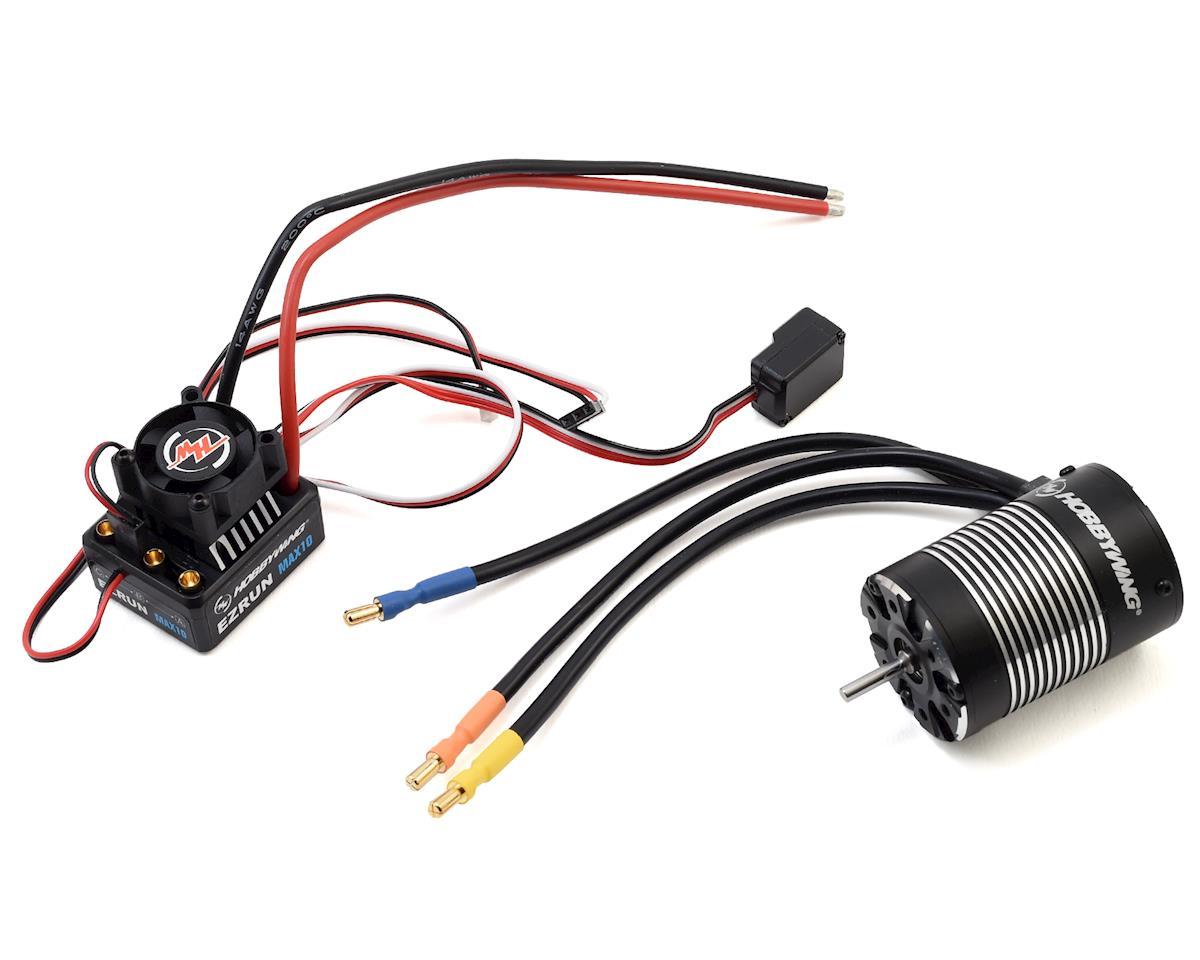EZRun MAX10 Sensorless Brushless ESC/3652SL Motor Combo (3300kV) by Hobbywing