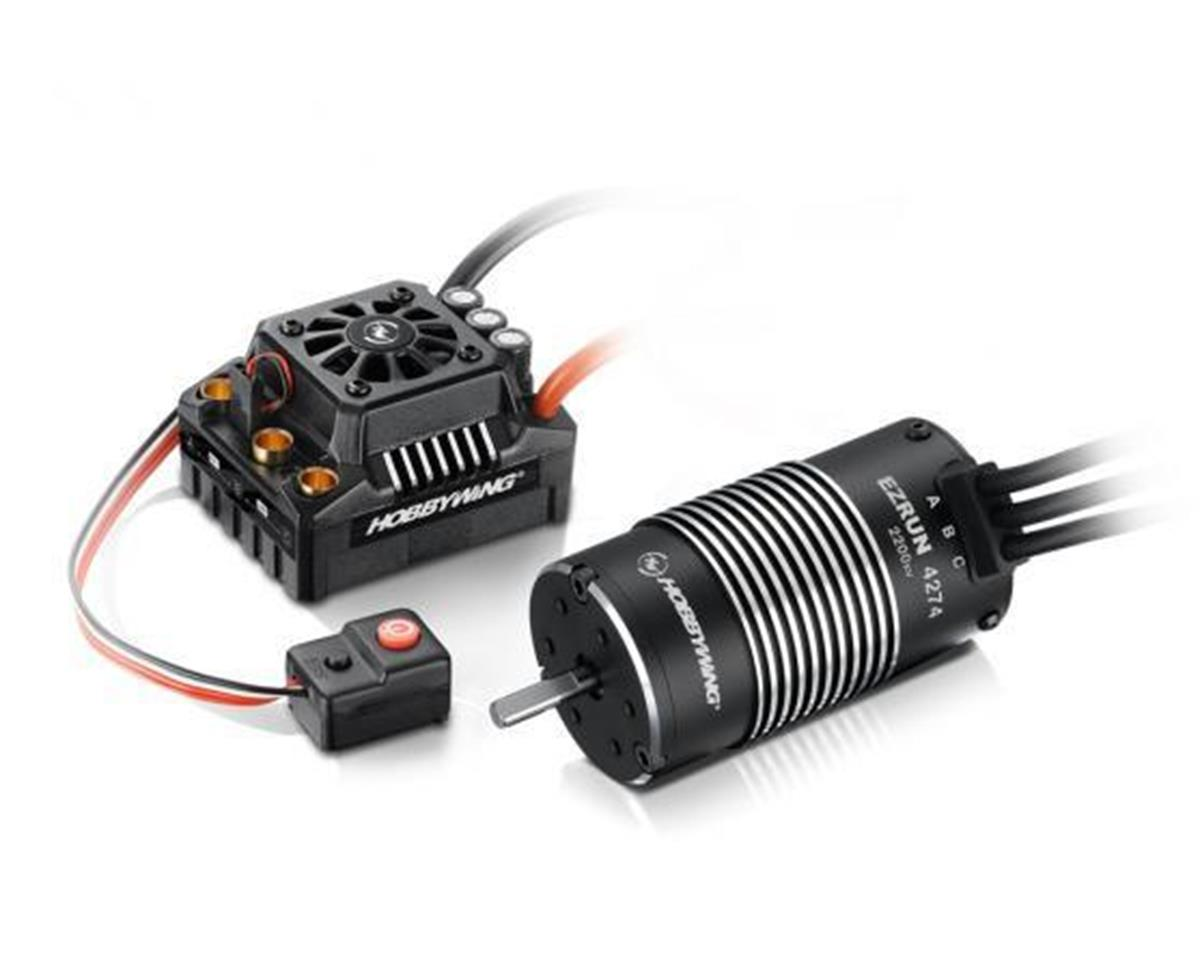 Hobbywing EZRun Max8 Waterproof Brushless ESC/Motor Combo (2200kV) | relatedproducts