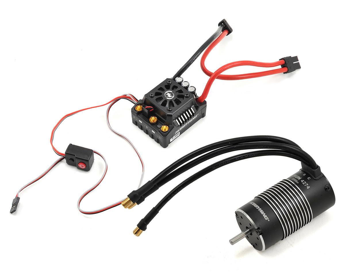 Hobbywing EZRun Max8 Waterproof Brushless ESC/Motor Combo (2200kV)