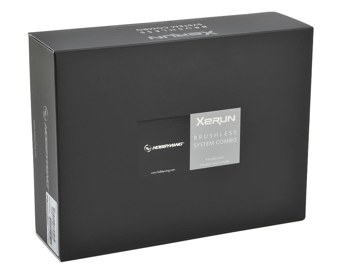 Hobbywing XR10 Pro Sensored Brushless ESC/V10 Motor Combo (3.5T)