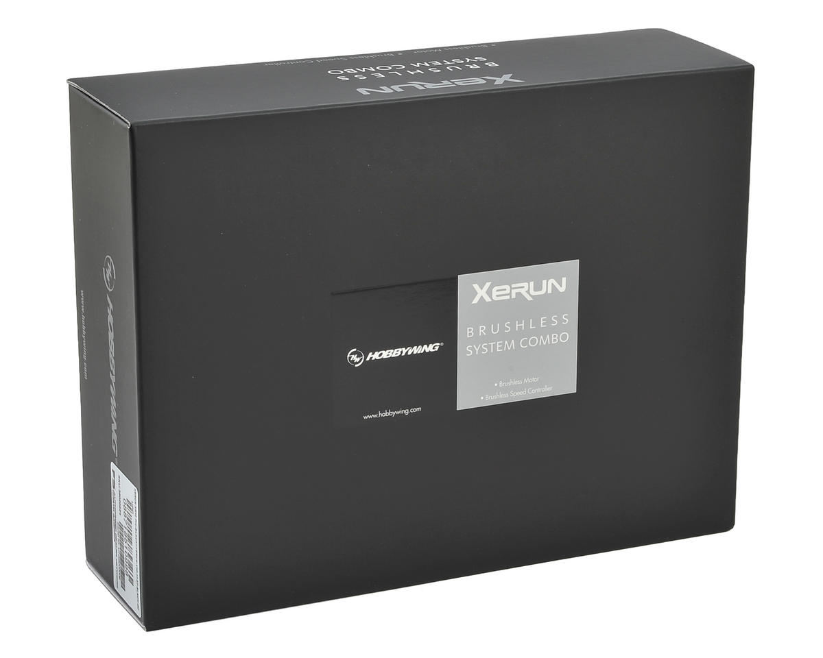 Hobbywing XR10 Pro Sensored Brushless ESC/V10 Motor Combo (6.5T)