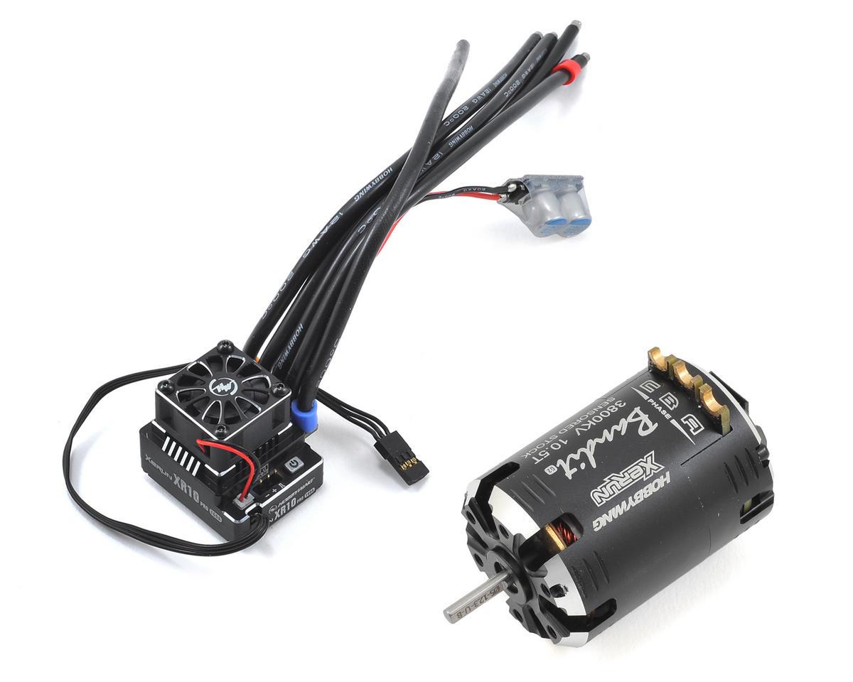Hobbywing XR10 Pro Sensored Brushless ESC/Bandit Motor Combo (10.5T)