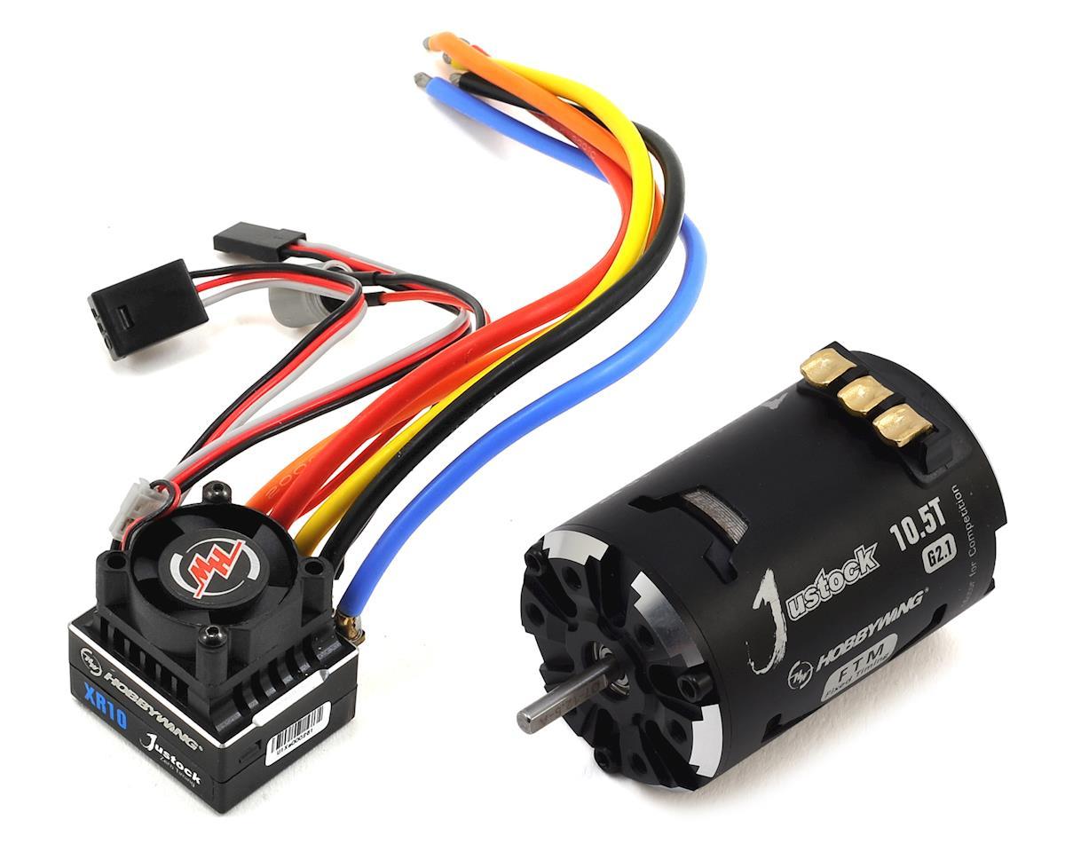 XR10 Justock Sensored Brushless ESC/SD G2.1 Motor Combo (10.5T)