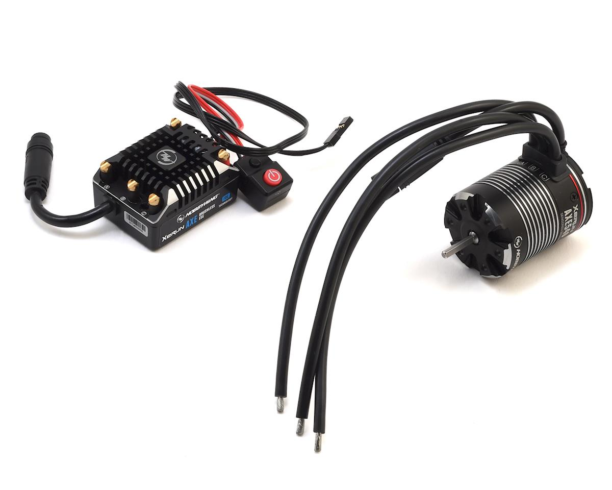 AXE FOC Waterproof Sensored Brushless Combo w/2300kV Motor by Hobbywing