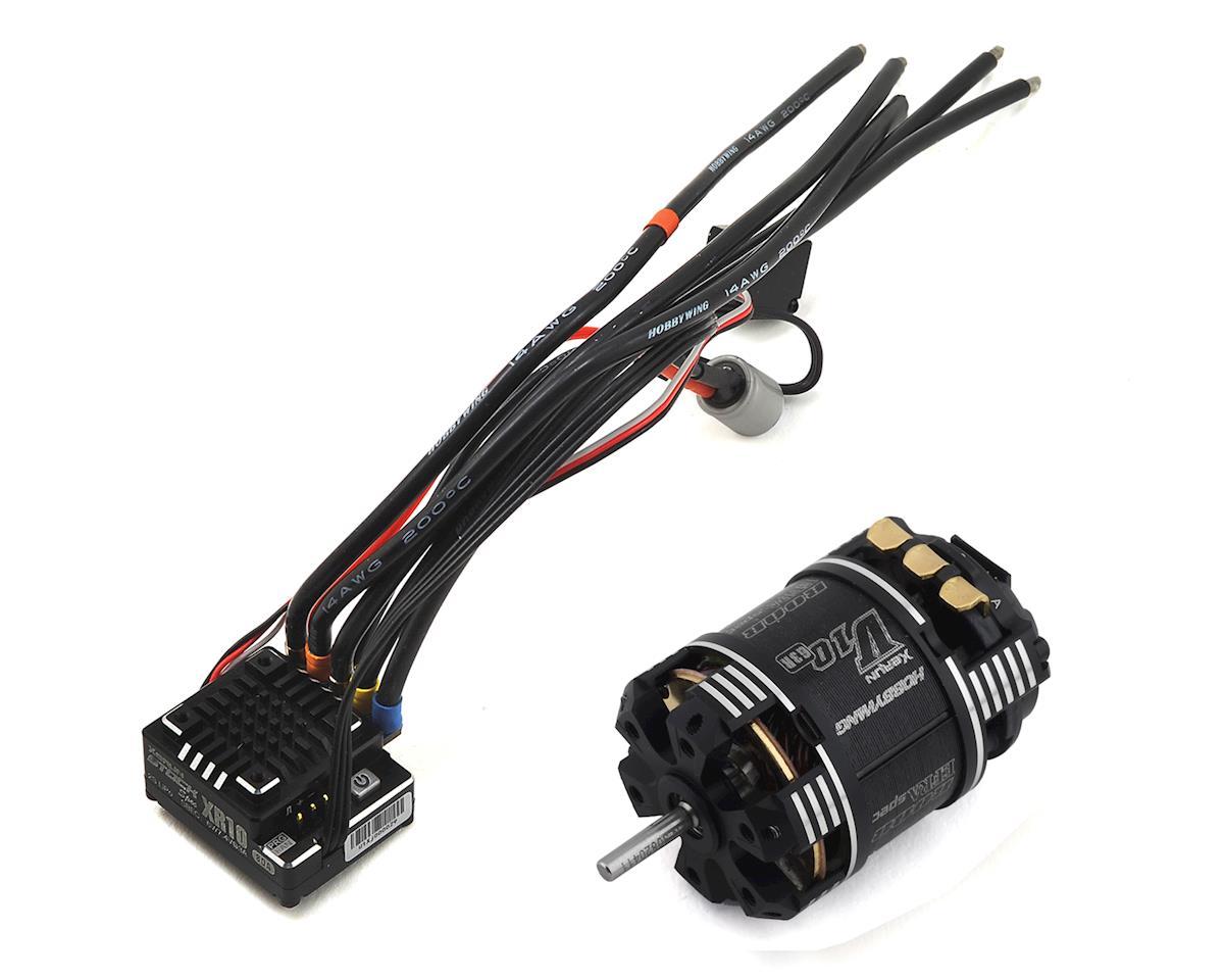 Hobbywing XR10 Pro Stock Spec 2S Sensored Brushless ESC/V10 G3R Combo (21.5T) | relatedproducts