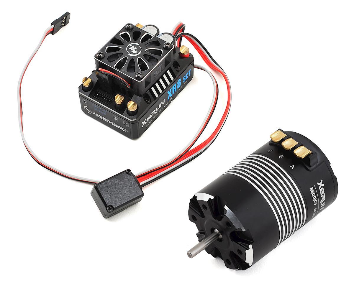 Hobbywing Xerun XR8 SCT Brushless ESC/3652SD G2 Motor Combo (3800kV)