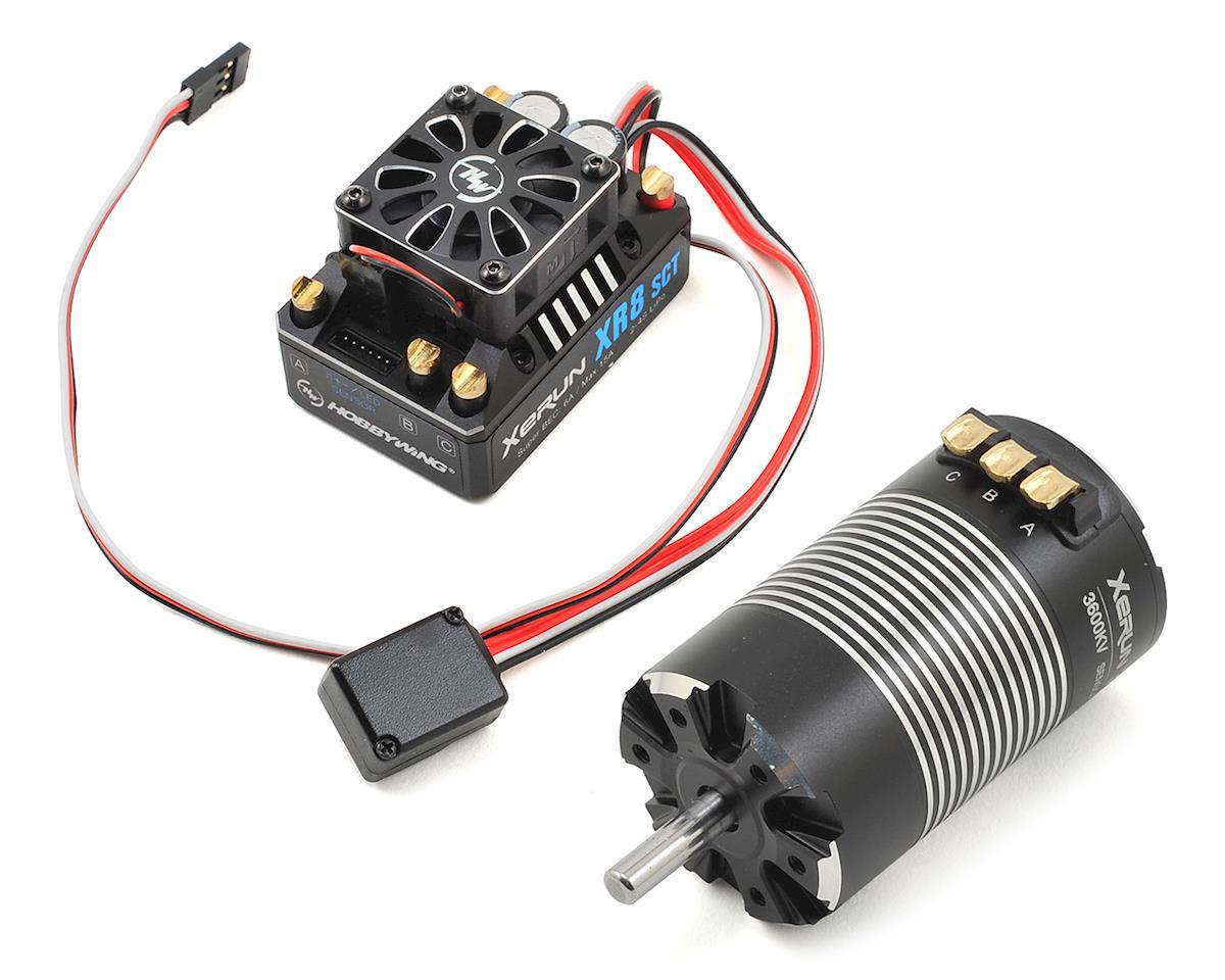 Xerun XR8 SCT Brushless ESC/3660SD G2 Motor Combo (3600kV) by Hobbywing