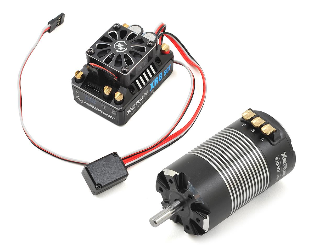 Hobbywing Xerun XR8 SCT Brushless ESC/3660SD G2 Motor Combo (3200kV)