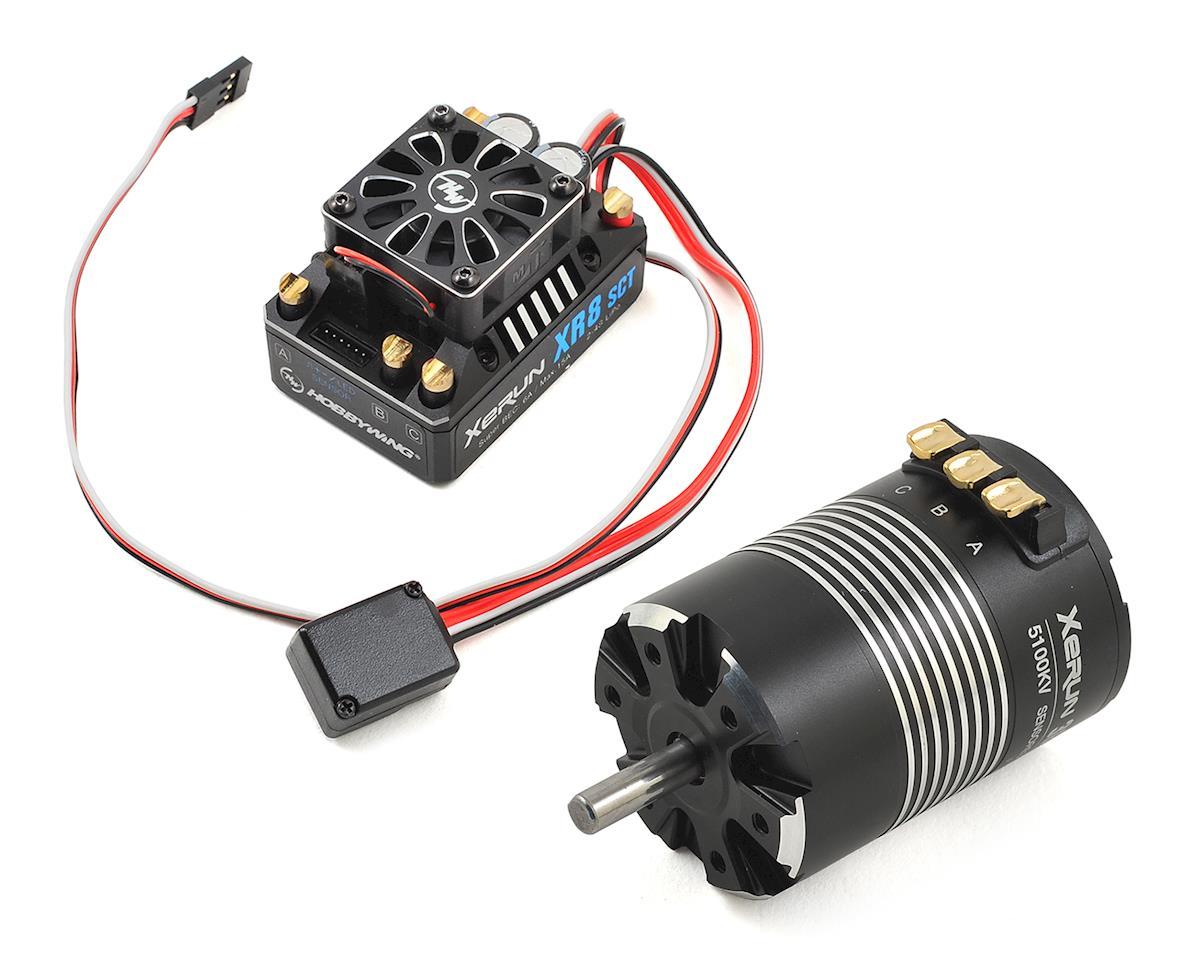 Hobbywing Xerun XR8 SCT Brushless ESC/3652SD G2 Motor Combo (5100kV)