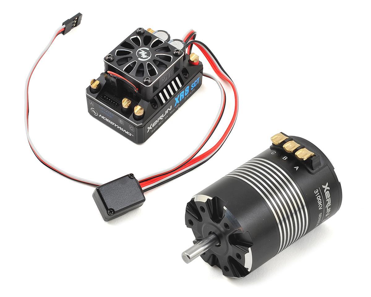Xerun XR8 SCT Brushless ESC/3652SD G2 Motor Combo (3100kV) by Hobbywing