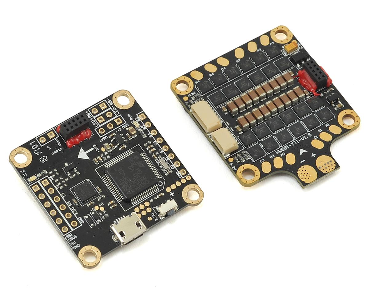 XRotor F4 MicroCube Flight Controller & 40A 4-in-1 ESC by Hobbywing