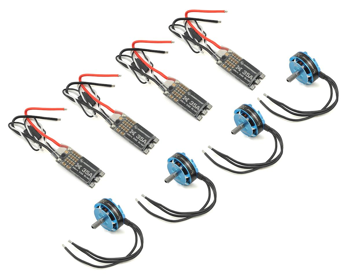 XRotor Micro 35A FPV Power Systems w/2405 Motors & Props (1800kv) by Hobbywing