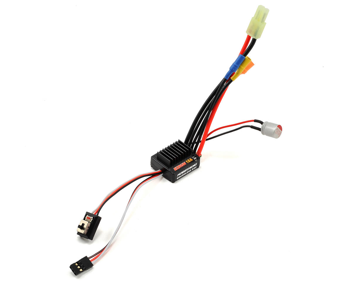 EZRun 18A Sensorless Brushless ESC by Hobbywing