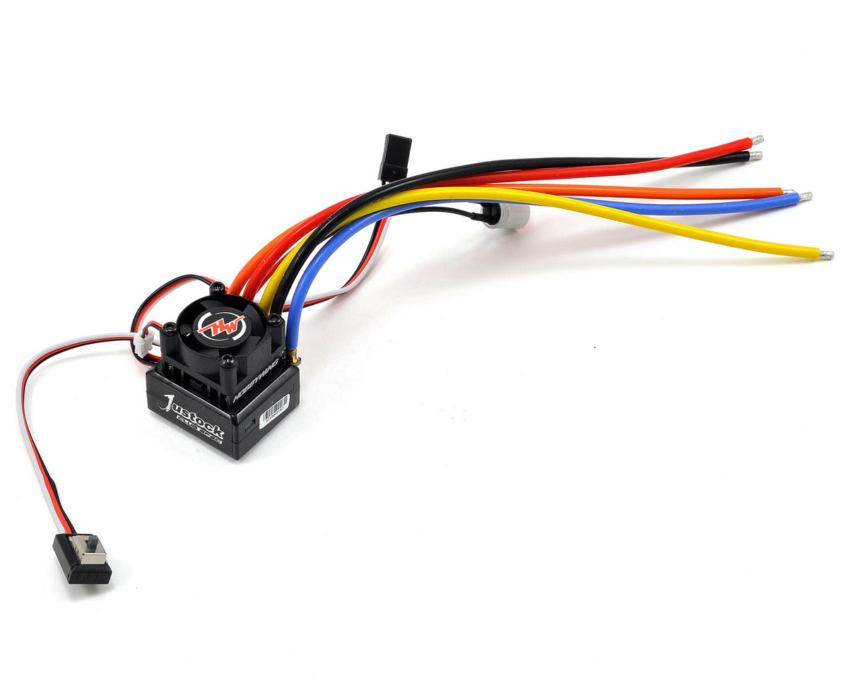 Hobbywing Justock Club Spec Sensored Brushless ESC (Black)