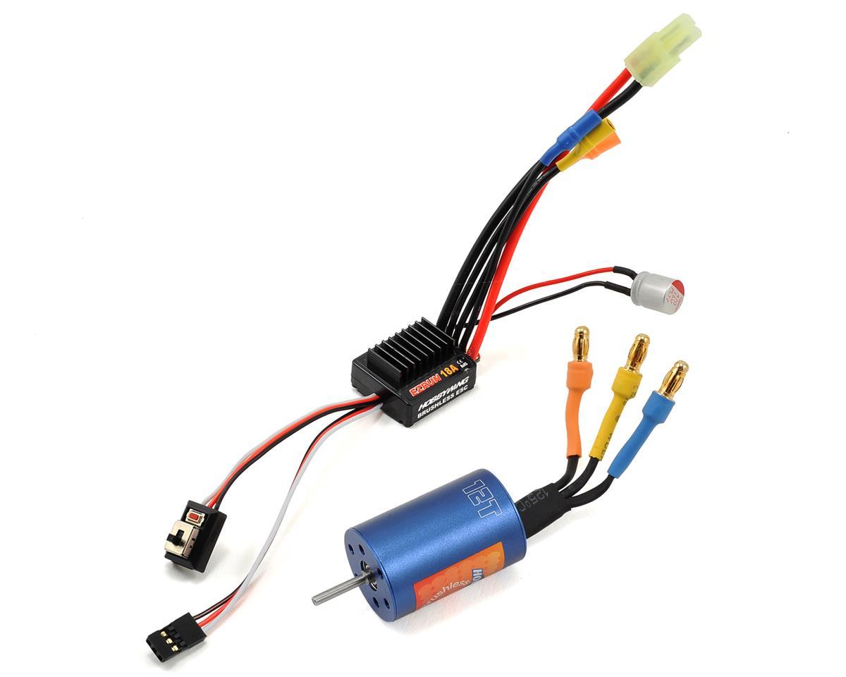 Hobbywing EZRun 18A Sensorless Brushless ESC/Motor Combo (12.0T/7800kV)