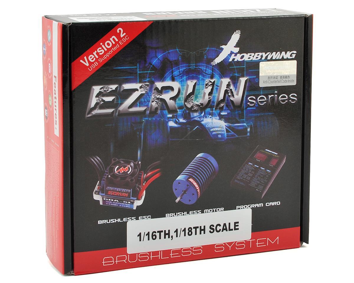 Hobbywing EZRun 18A Sensorless Brushless ESC/Motor Combo (18.0T/5200kV)