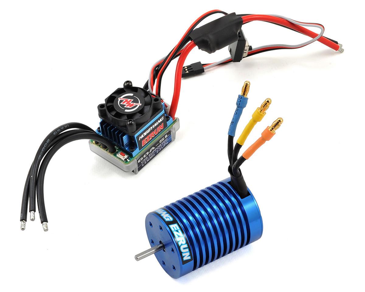 Hobbywing EZRun 60A Sensorless Brushless ESC/Motor Combo (9.0T/4300kV)