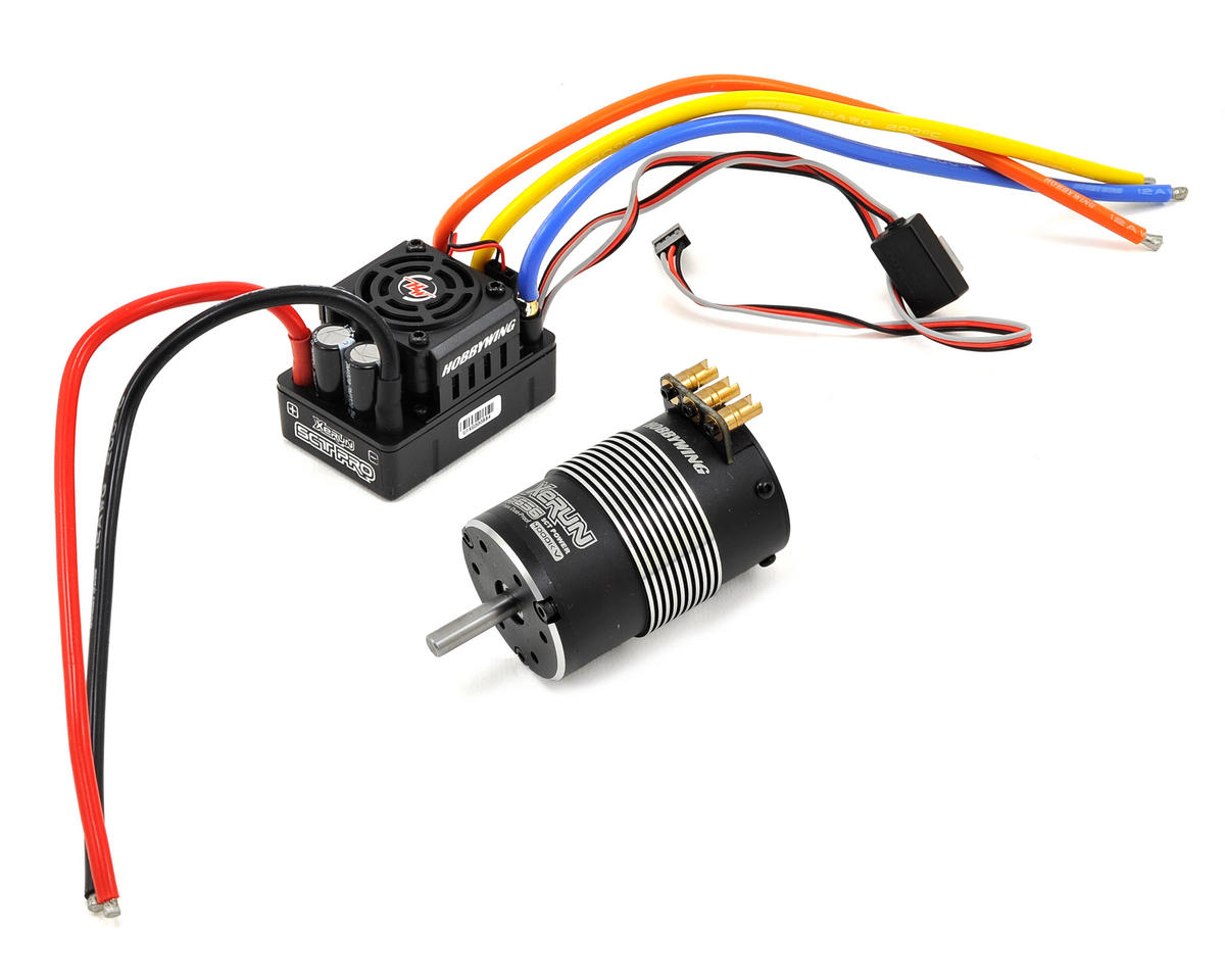 Xerun SCT Pro Sensored Brushless ESC/Motor Combo (4000kV)