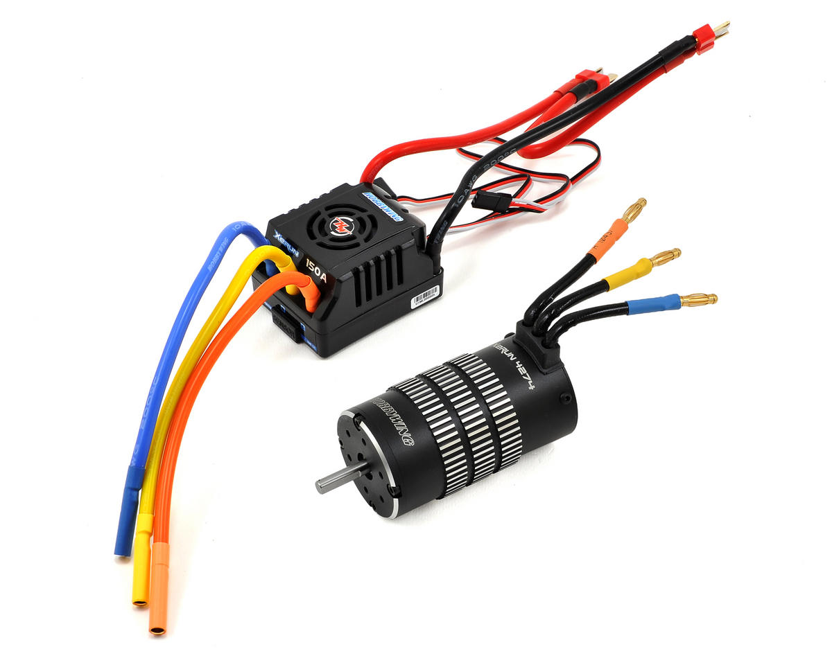 Hobbywing Xerun 150A 1/8 Buggy Brushless ESC/Motor Combo w/Program Box (2000kV)