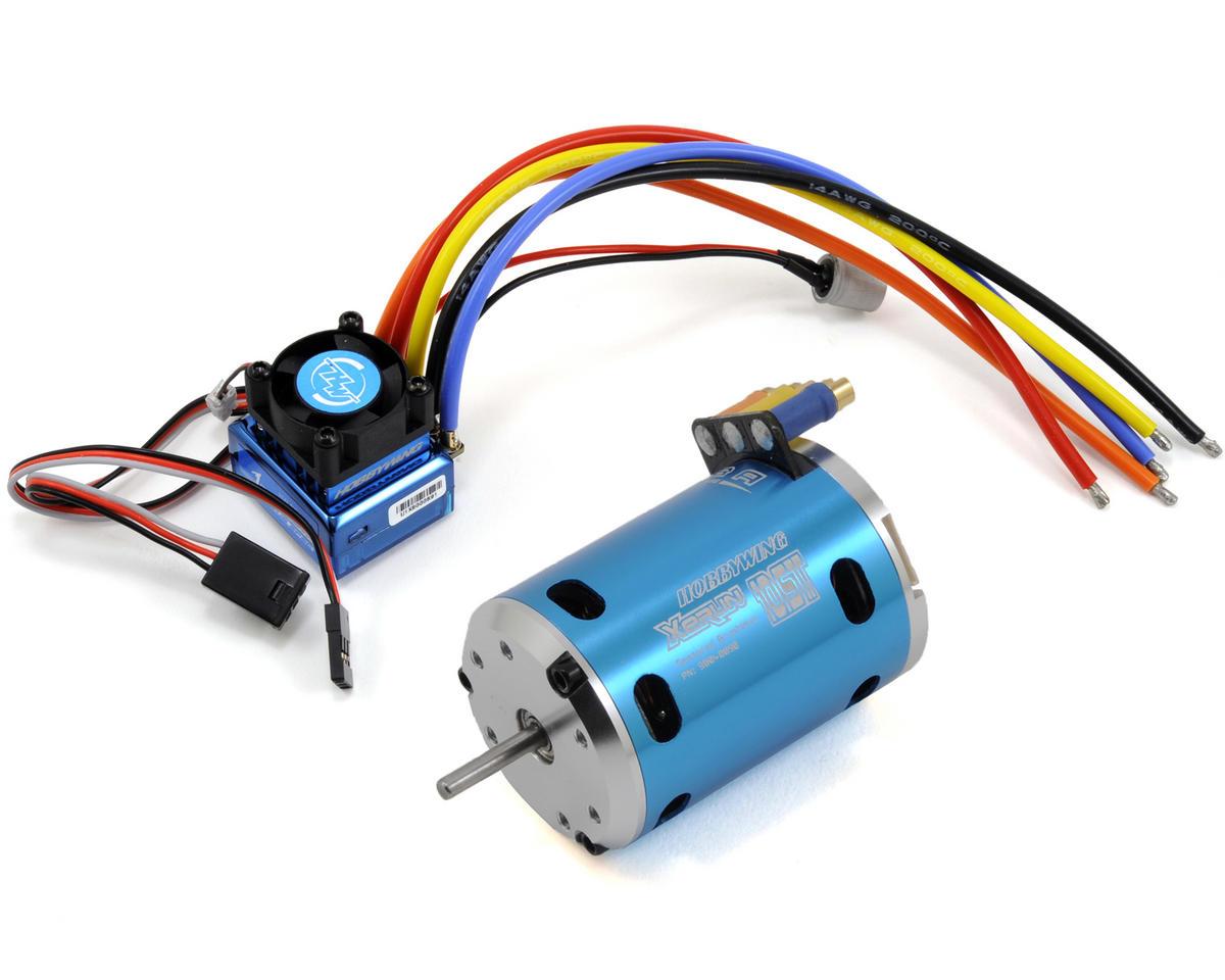 Hobbywing Justock Club Spec Sensored Brushless ESC/Motor Combo w ...