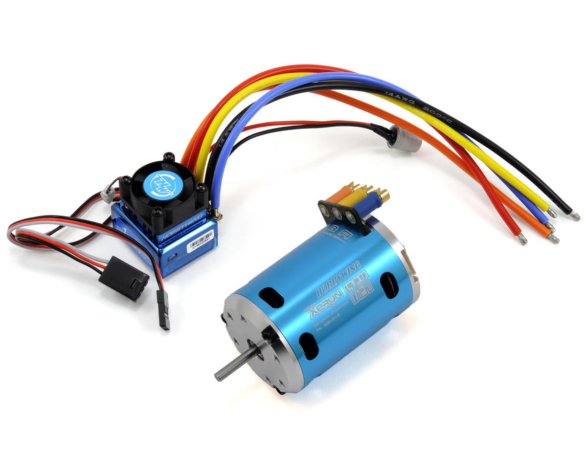 Hobbywing justock club spec sensored brushless esc motor for 10 5 t brushless motor