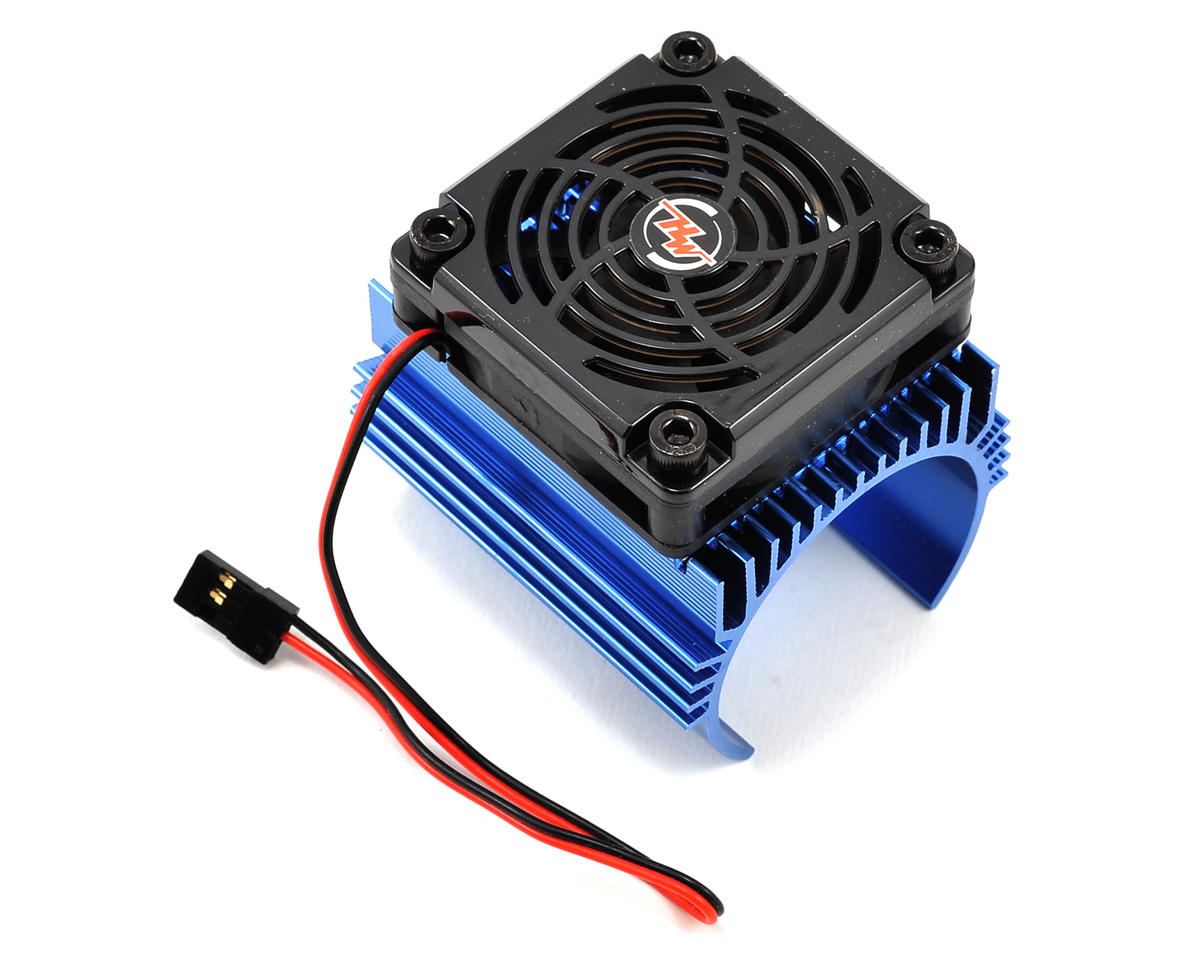C4 Motor Heatsink & Fan Combo by Hobbywing