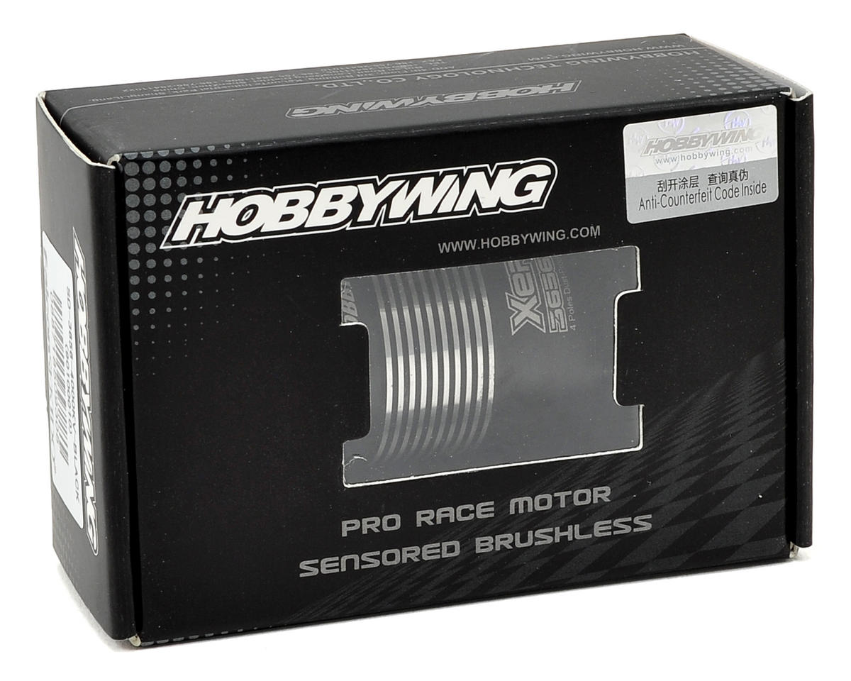 Hobbywing Xerun 3656 4-Pole Sensored Brushless Motor (3400kV)