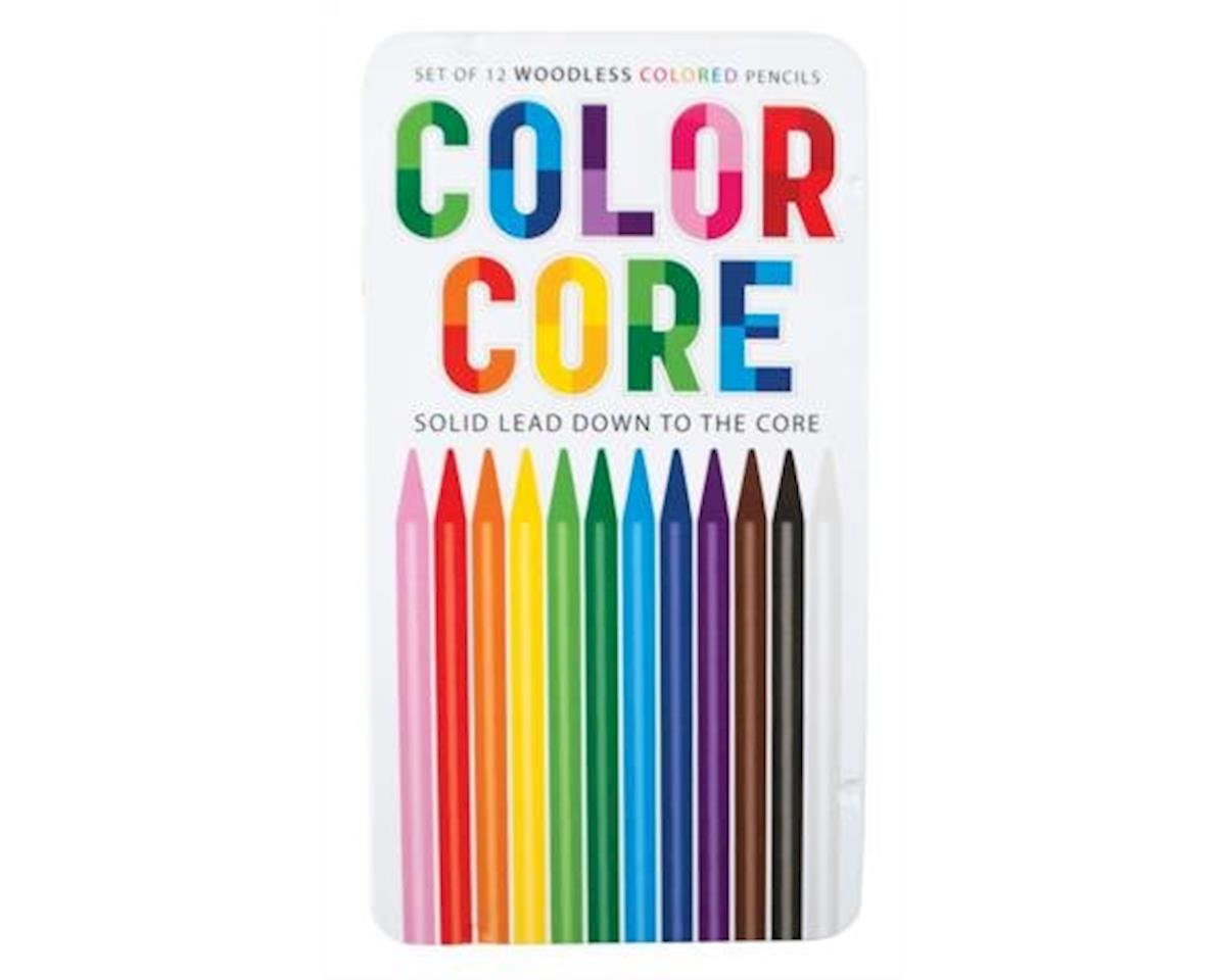 International Arrivals Color Core Woodless Colored Pencils, Set of 12 (128-101)