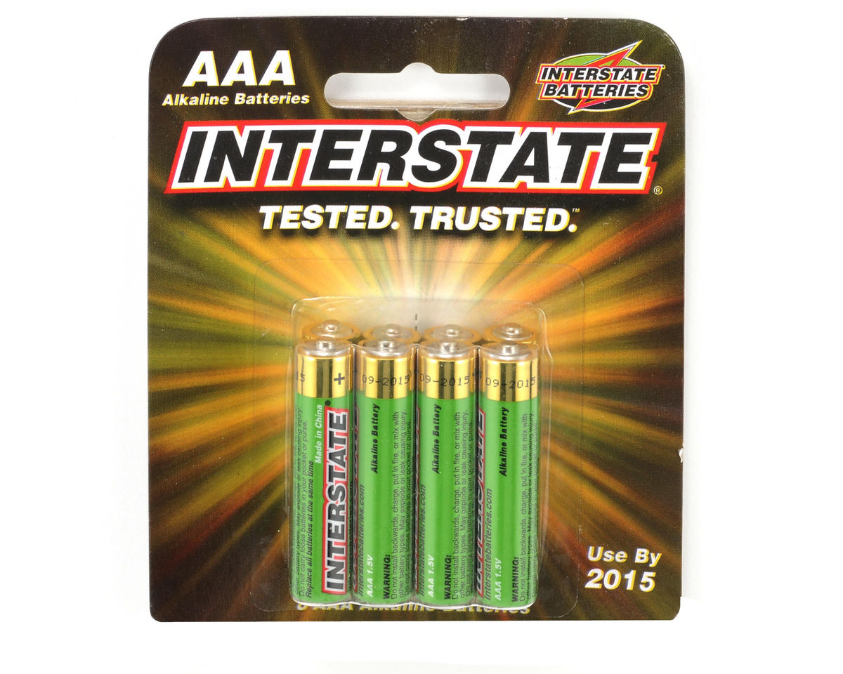 Interstate Batteries AAA Alkaline Batteries (8)