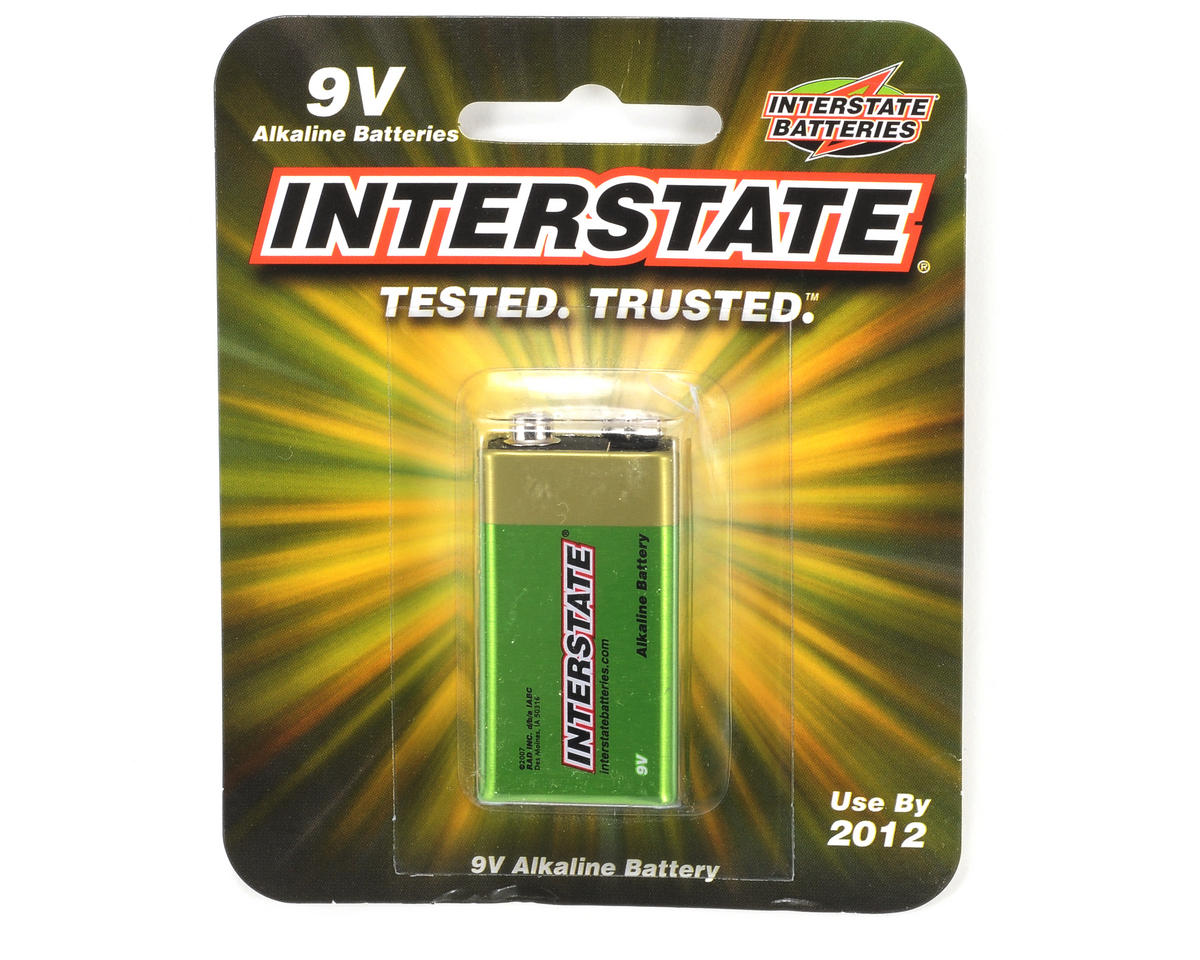 Interstate Batteries 9V Alkaline Battery (1)