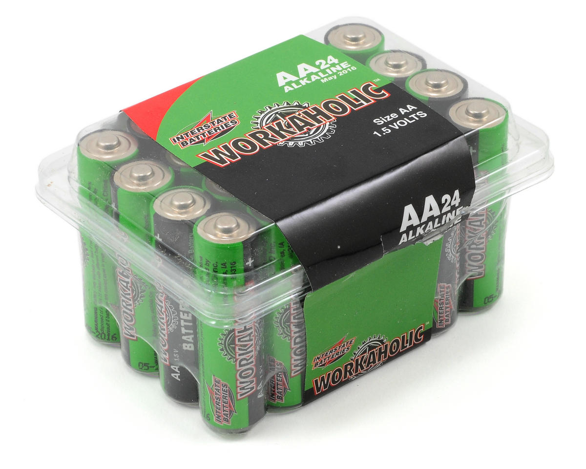 Interstate Batteries AA Alkaline Batteries (24)